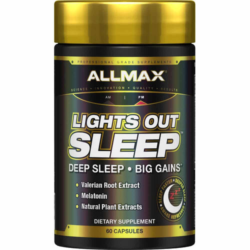 Shop ALLMAX Nutrition Lights Out Sleep, 60 Capsules online  sleep-aids