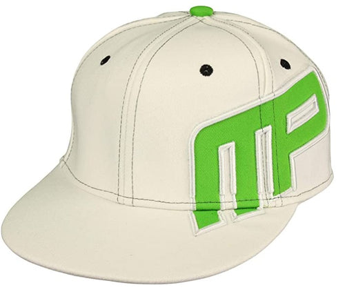 Shop Musclepharm Sports Wear Hat, White With Lime Green Logo, Size L/XL (Pack of 1) online  mens-baseball-caps
