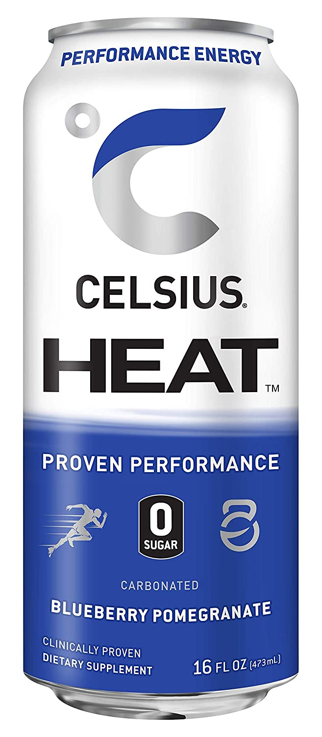Shop CELSIUS Heat, 1-Pack, Blueberry Pomegranate online  energy-drinks