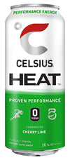 Shop CELSIUS Heat, 1-Pack, Cherry Lime online  energy-drinks