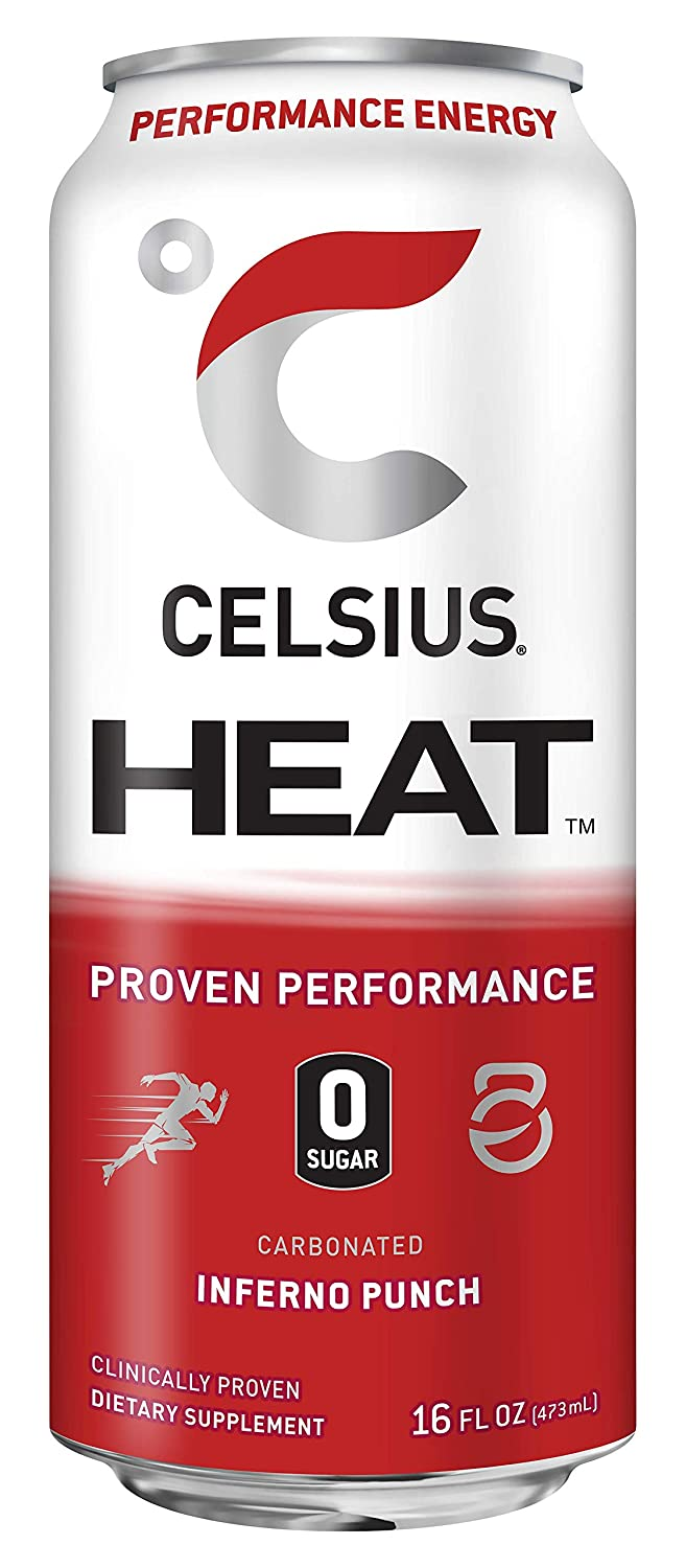 Shop CELSIUS Heat, 1-Pack, Inferno Punch online  energy-drinks