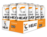 Shop CELSIUS Heat, 12-Pack, Orangesicle online  energy-drinks