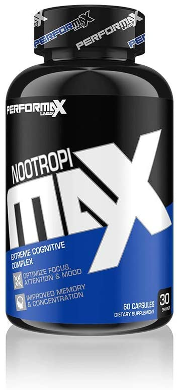 Shop PerforMax Labs NootropiMax, 60 Capsule online  sports-nutrition-products