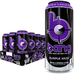 Shop Bang Energy Drink, Purple Haze, 16 Fluid Ounce (12 Pack) online  sports-nutrition-endurance-and-energy-drinks