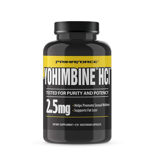 Shop PrimaForce Yohimbine (HCl), 270 Capsules (Pack of 1) online  yohimbe-herbal-supplements
