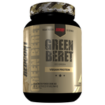 Shop Redcon1 Green Beret (Vegan Protein) 2.17 Pound (30 Serving), Vanilla online  sports-nutrition-pea-protein-powders