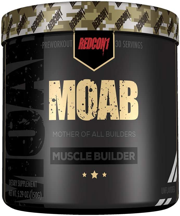 Shop RedCon1 MOAB (Mother of All Builders), 30 Serving, Unflavored online  sports-nutrition-pre-workout-powders