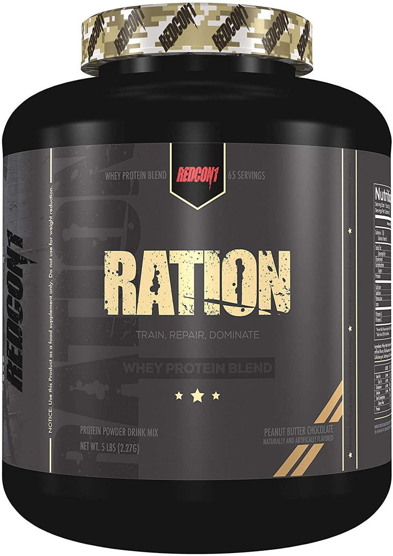 Shop RedCon1 RATION, 5 Pound, Peanut Butter Chocolate online  sports-nutrition-whey-protein-powders
