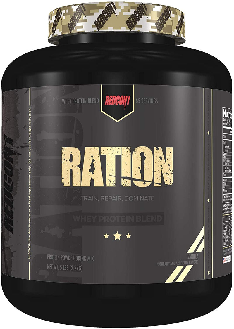 Shop RedCon1 RATION, 5 Pound, Vanilla online  sports-nutrition-whey-protein-powders