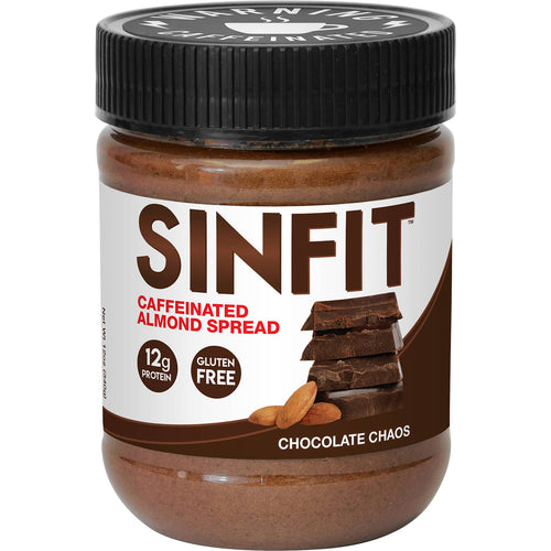 Shop SinFit (Sinister Labs) Caffeinated Almond Spread, Chocolate Chaos, 12 Ounce online  nut-butters
