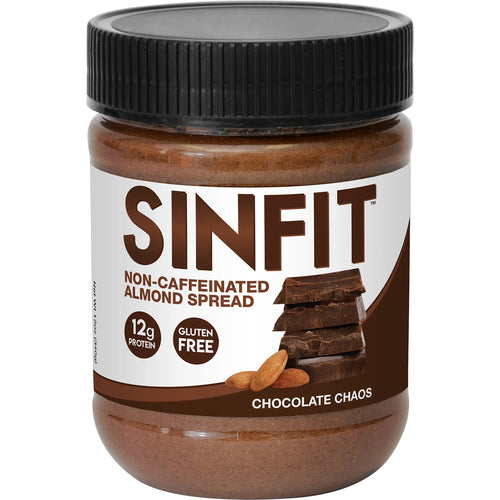 Shop SinFit (Sinister Labs) Non-Caffeinated Almond Spread, Chocolate Chaos, 12 Ounce online  nut-butters