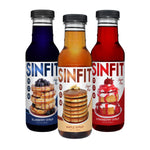 Shop SinFit (Sinister Labs) Syrup, Variety Pack, 12 Fluid Ounce (6 Pack) online  maple-syrups