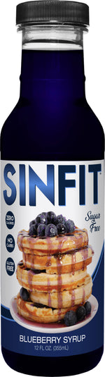 Shop SinFit (Sinister Labs) Syrup, Blueberry, 12 Fluid Ounce (6 Pack) online  maple-syrups