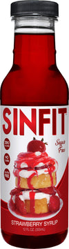 Shop SinFit (Sinister Labs) Syrup, Strawberry, 12 Fluid Ounce (6 Pack) online  maple-syrups