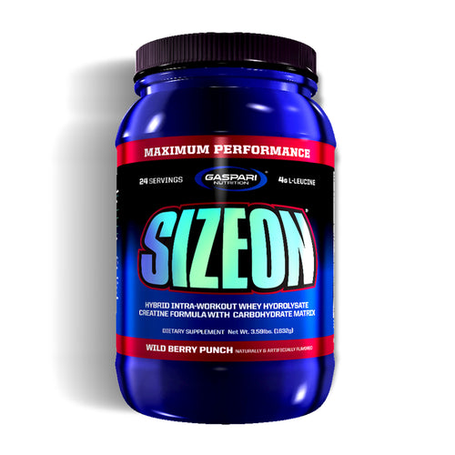 Shop Gaspari Nutrition SizeOn, Wild Berry Punch, 3.59 Pound online  sports-nutrition-weight-gainers