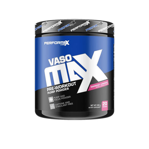 Shop PerforMax Labs VasoMax, 25 Serving, Raspberry Lemonade online  sports-nutrition-pre-workout-supplements