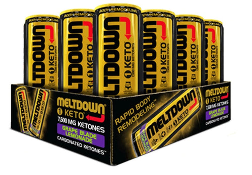 Shop VPX Meltdown 1 Keto, Grape Blade Lemonade, 12 Fl Oz (12-Pack) online  sports-nutrition-endurance-and-energy-drinks
