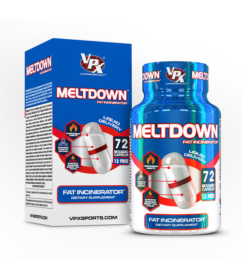 Shop VPX Meltdown Liquid Capsules, 72 Count (Original) online  fat-burner-weight-loss-supplements