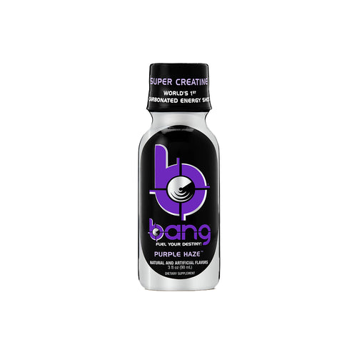 Shop Bang Shot, 3 Fluid Ounce (12 Pack), Purple Haze online  energy-drinks