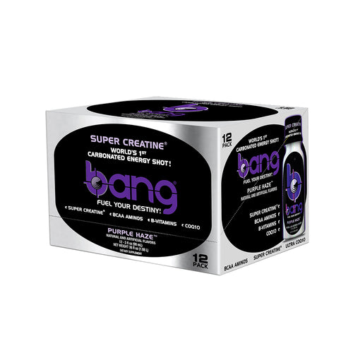 Shop Bang Shot, 3 Fluid Ounce (24 Pack), Purple Haze online  energy-drinks