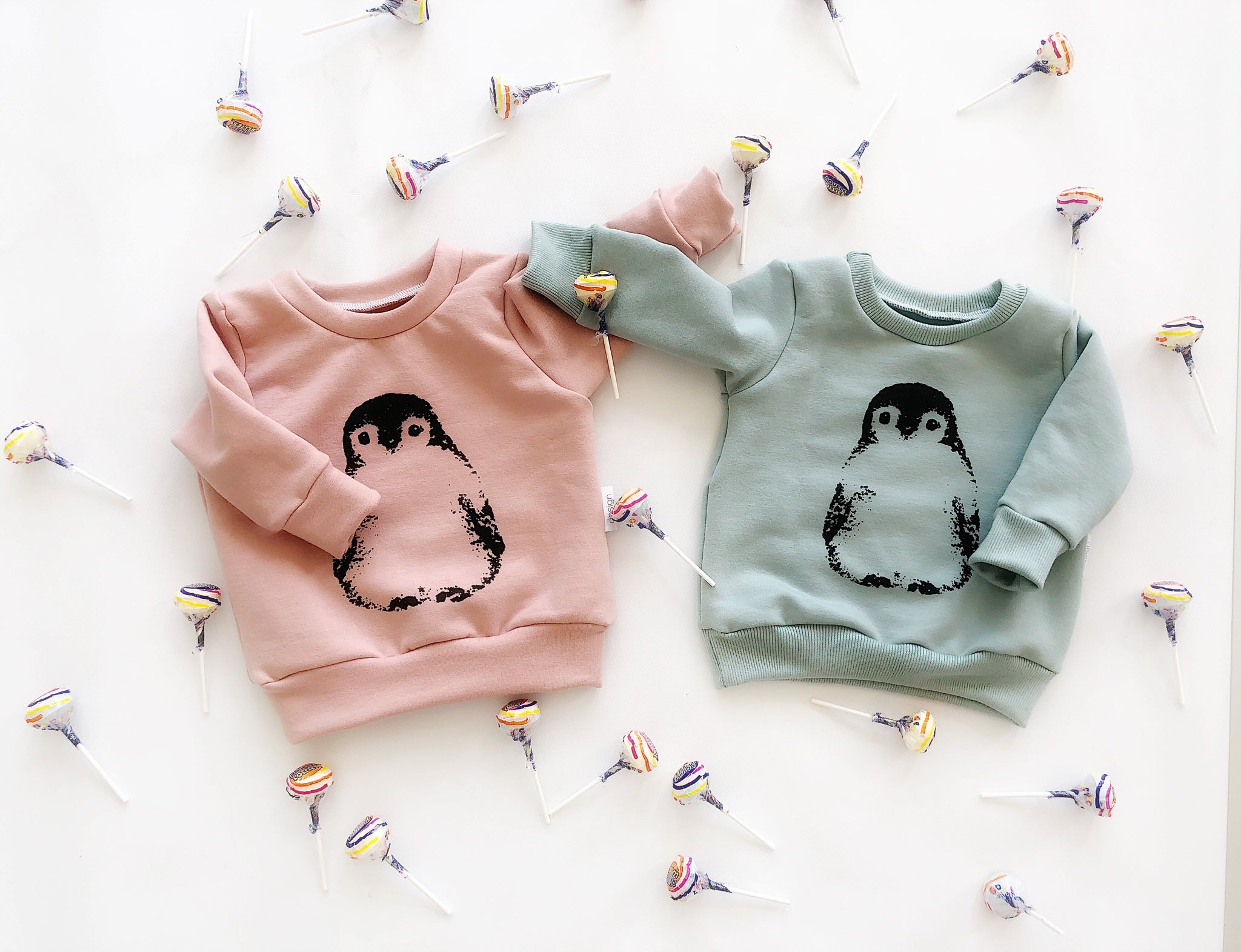 Signature Pullovers with Penguin