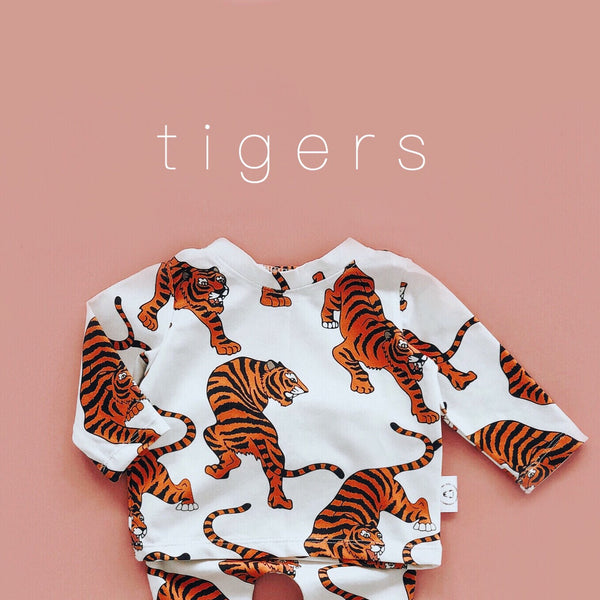 Long Sleeve shirt with Tigers