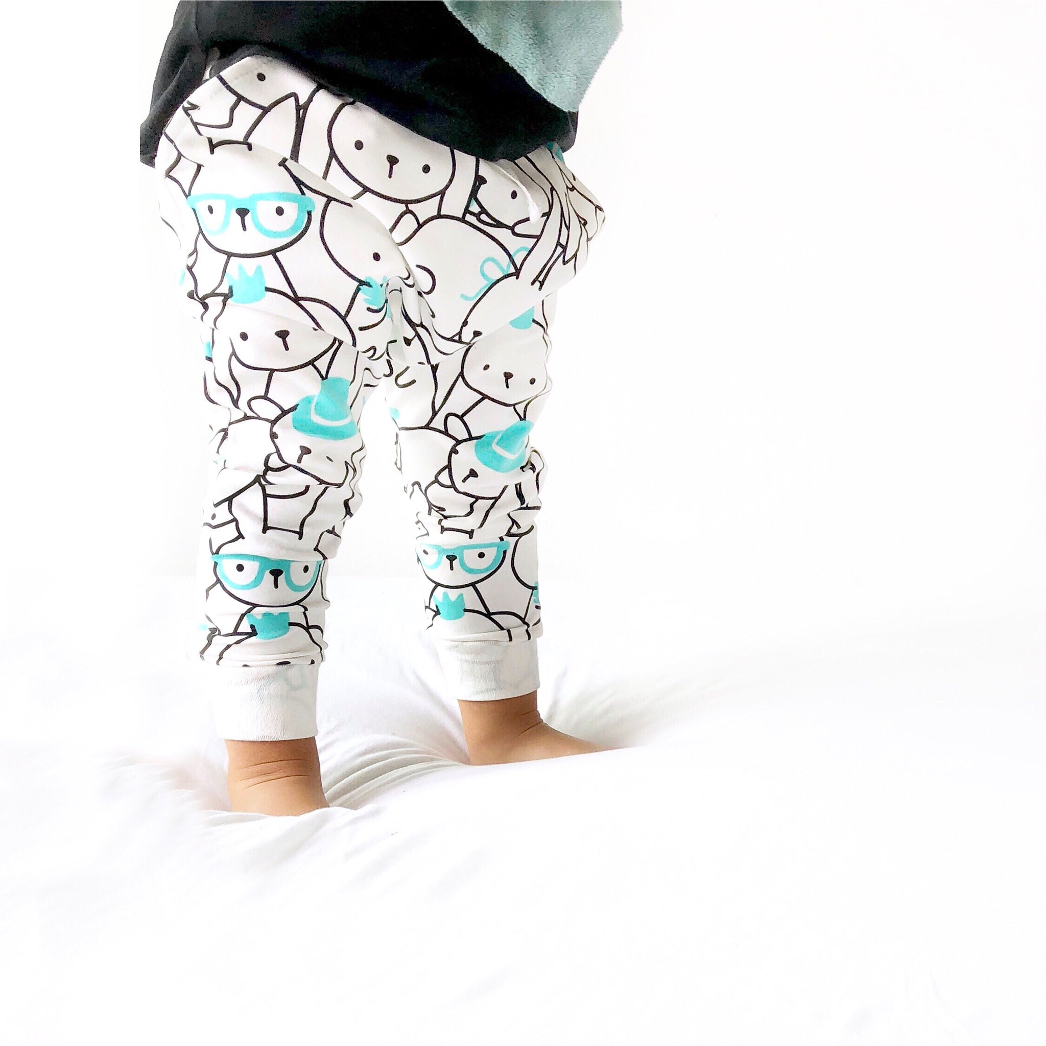 Modern Trousers with Bunnies