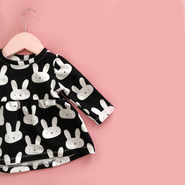 """Zoe"" dress with Bunnies"