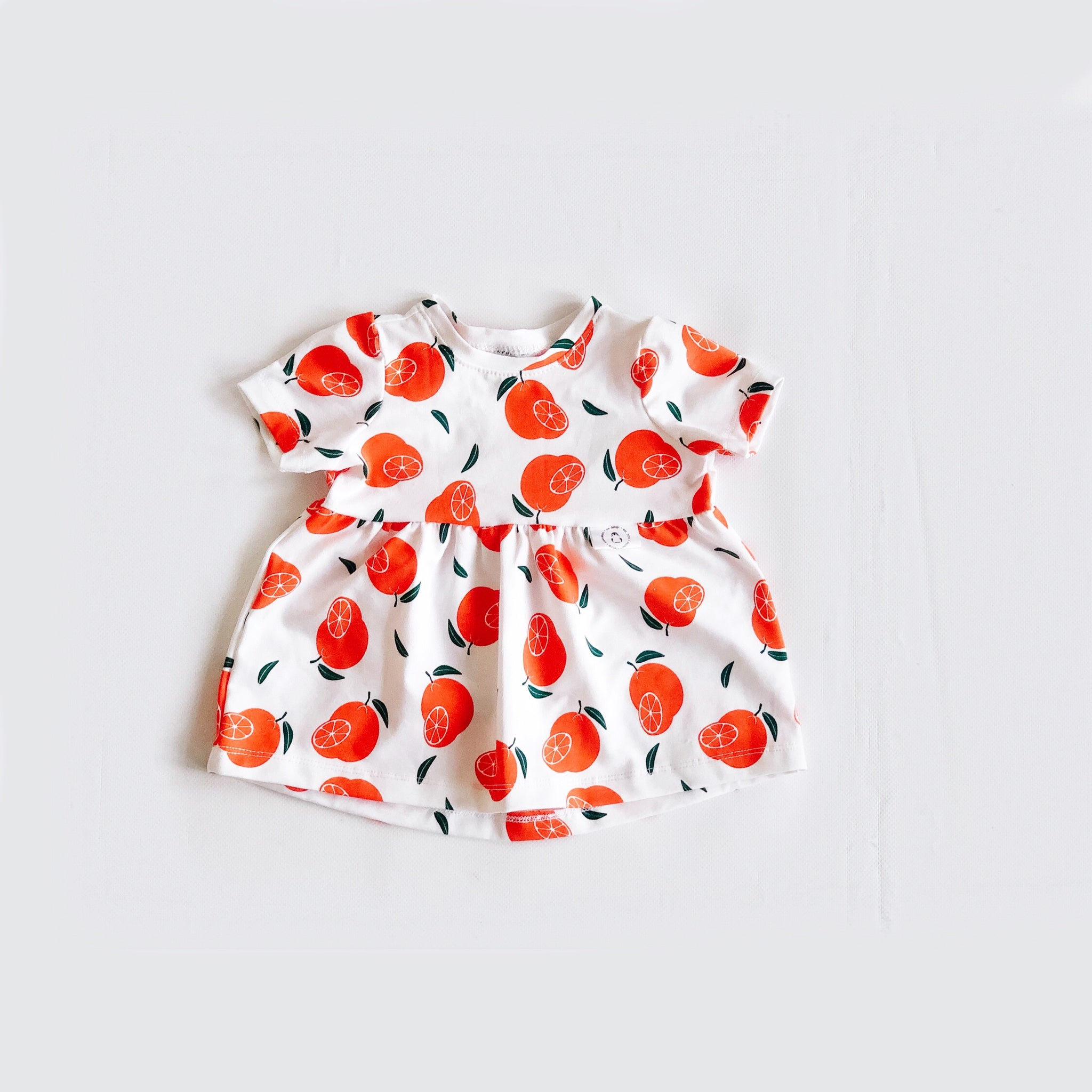"""Sophia"" dress with Clementines"