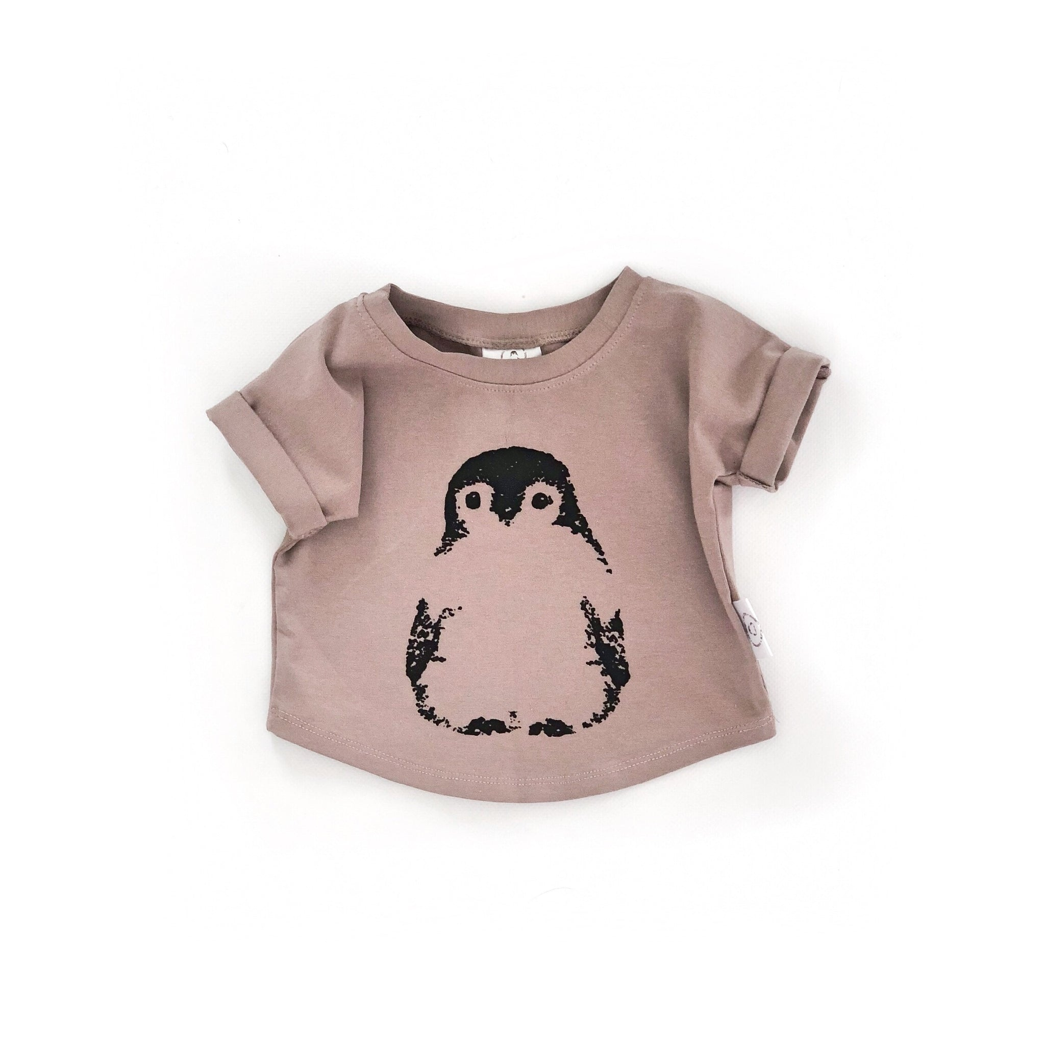 Signature T-shirt with Penguin