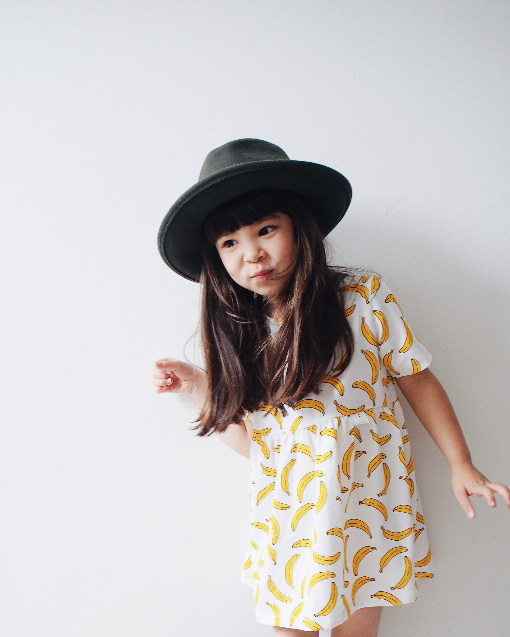 """Sophia"" dress with Bananas"