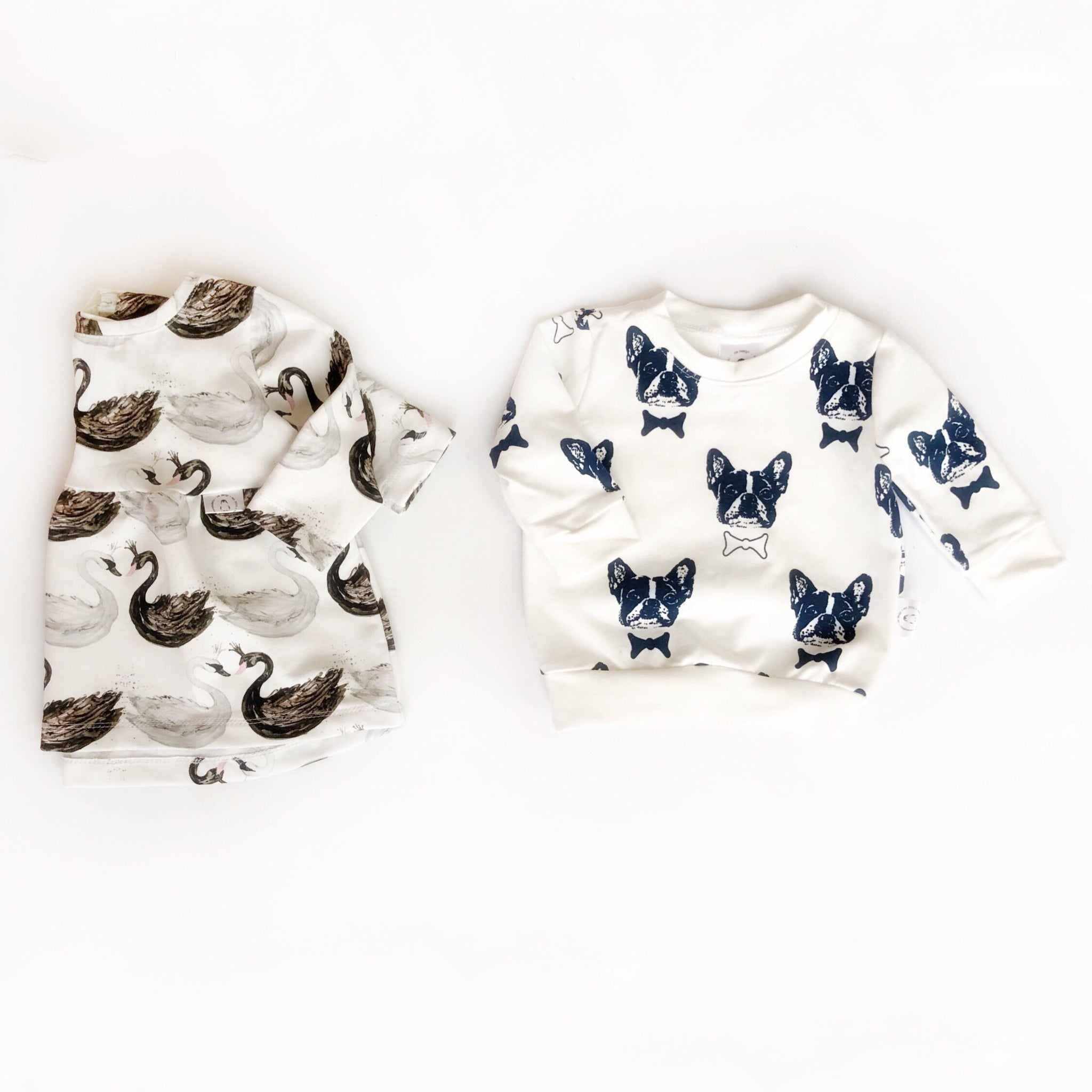 Modern Pullover with French Bulldog