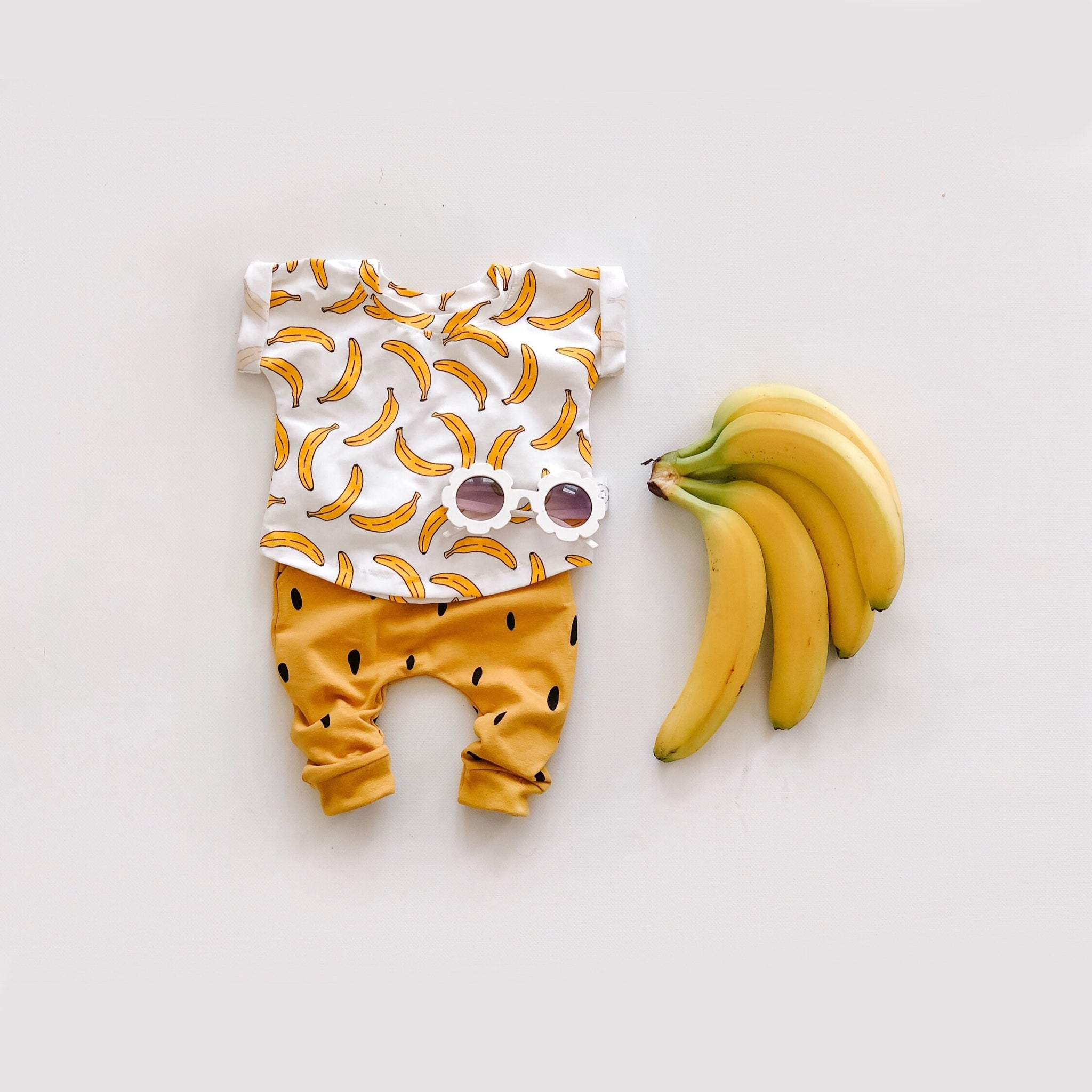 T-shirt With Bananas