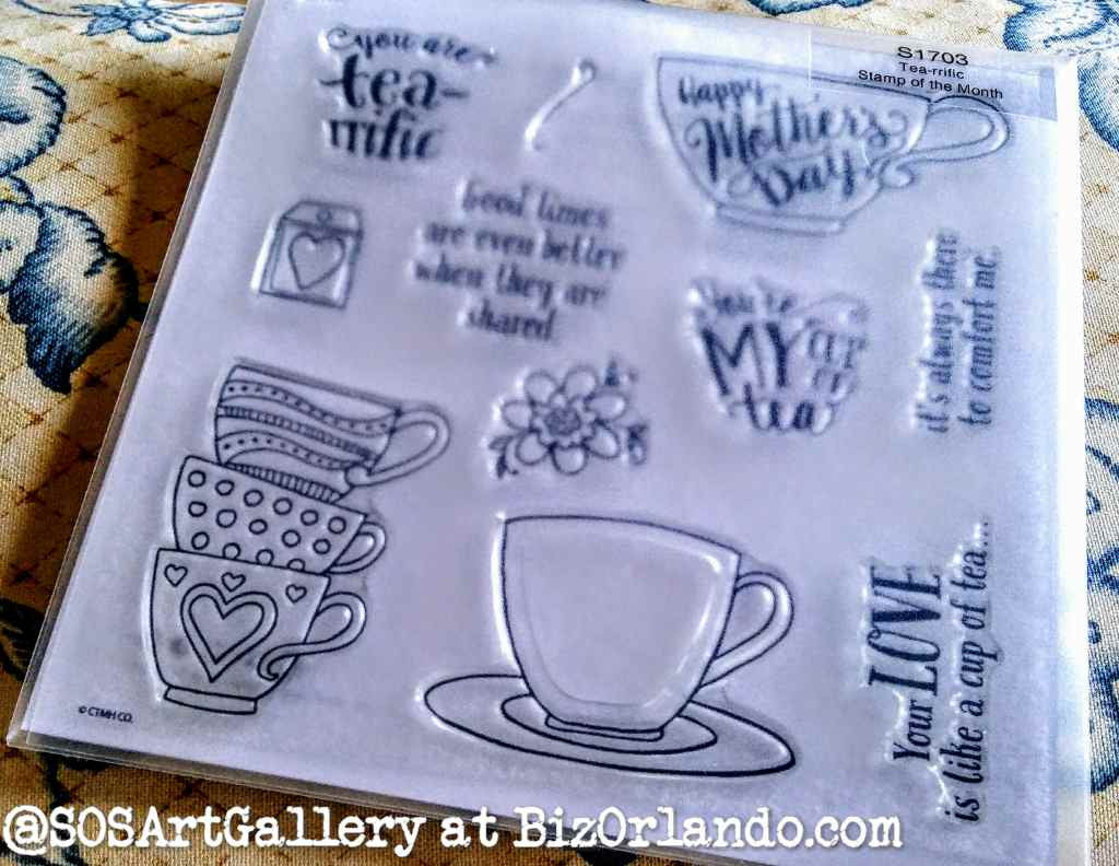 STAMPS: Mother's Day Set (Tea-Riffic)