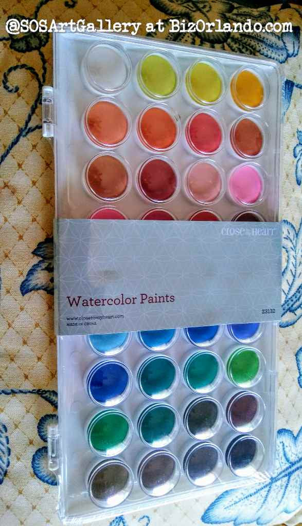 ARTS AND CRAFTS SUPPLIES: Watercolor Paints