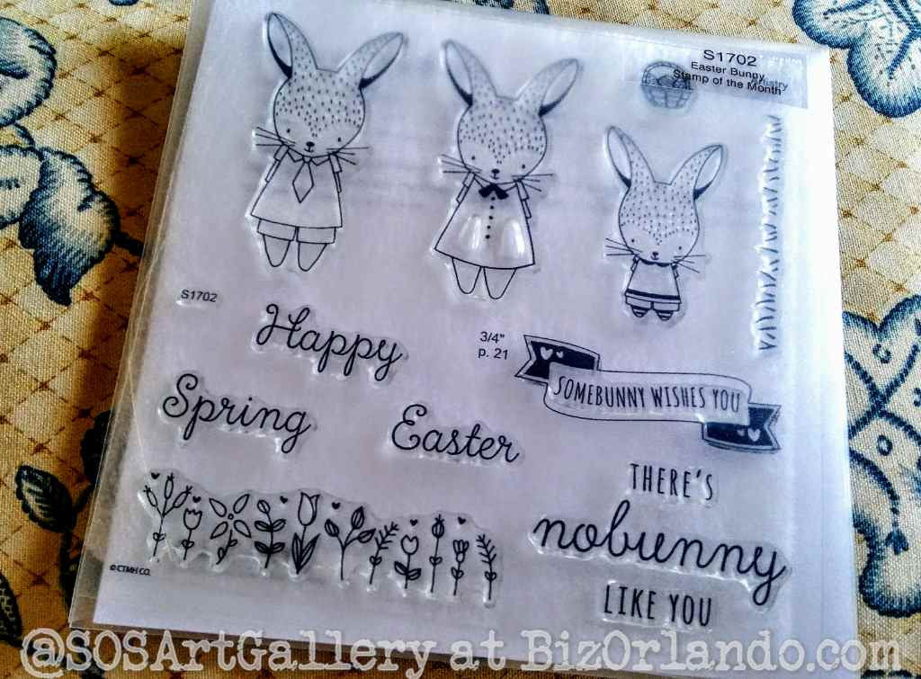 STAMPS: Easter Set (Easter Bunny)