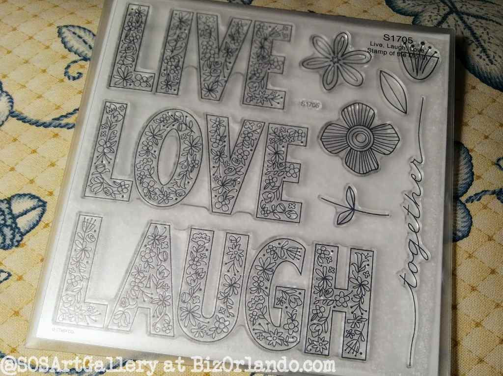 STAMPS: Live Love Laugh