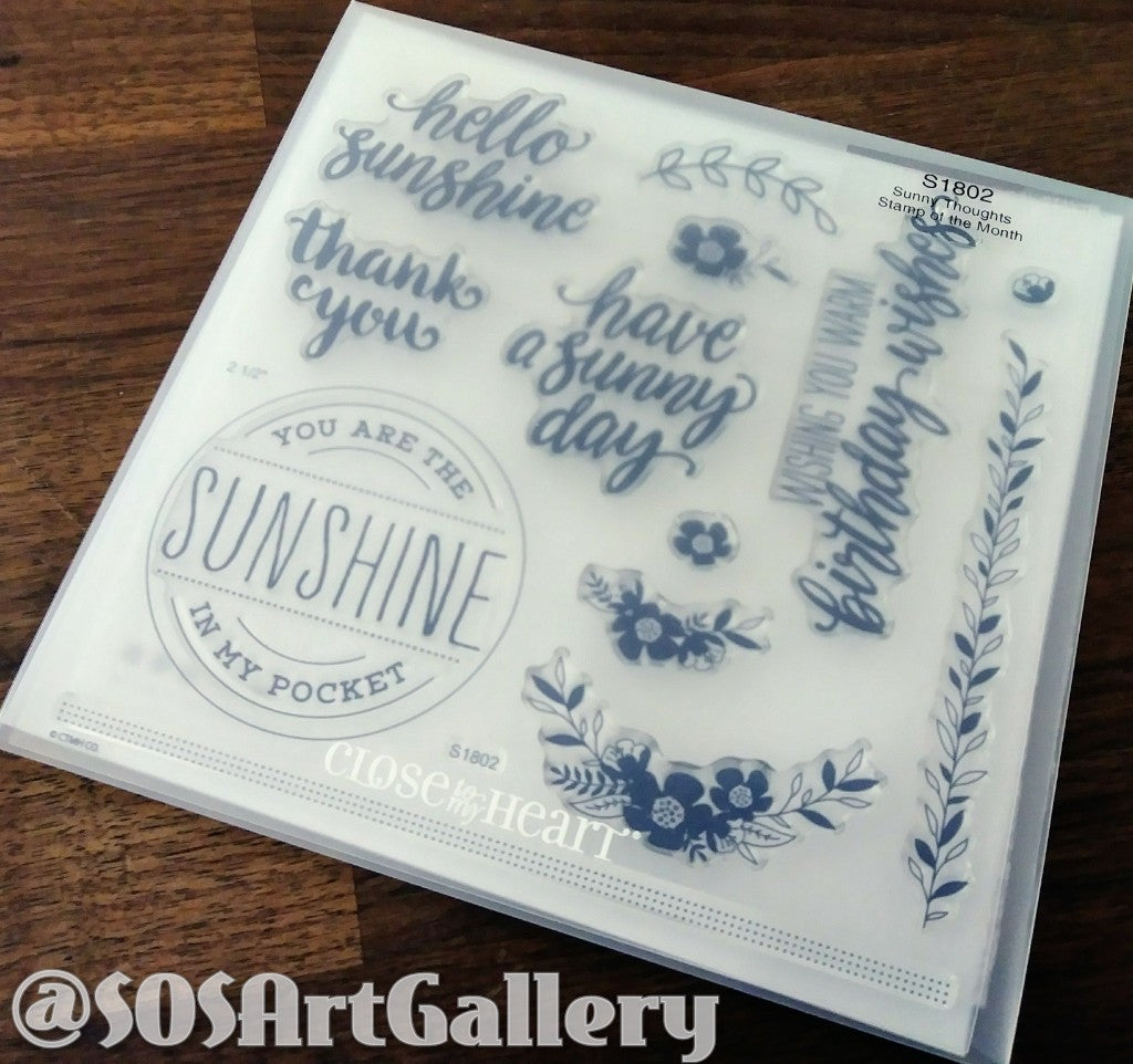 STAMPS: Sunny Thoughts (Stamp of the Month)