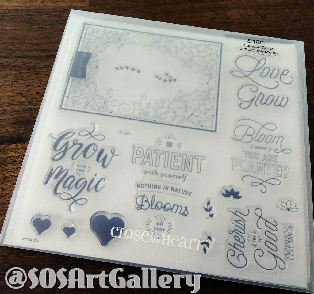STAMPS: Bloom And Grow (Stamp of the Month)