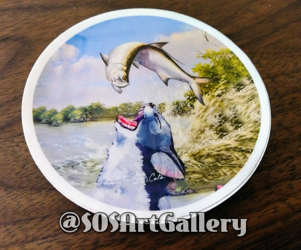 STICKERS: Limited Edition Stickers by @SOSArtGallery Artisan