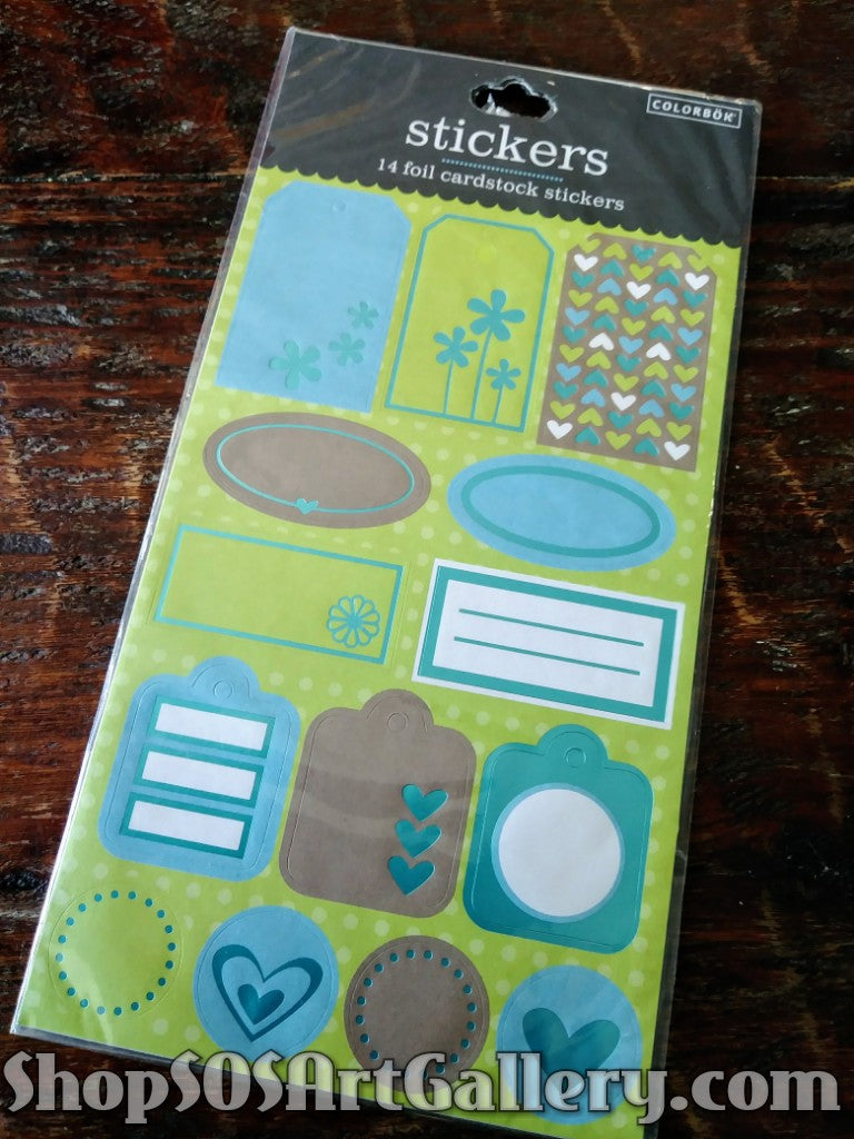 ARTS AND CRAFTS SUPPLIES: Crafting Stickers