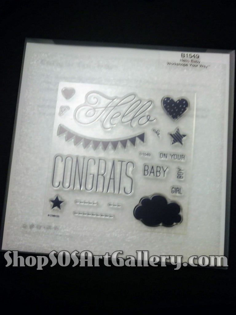 STAMPS: Hello Baby Set (Stamp of the Month)