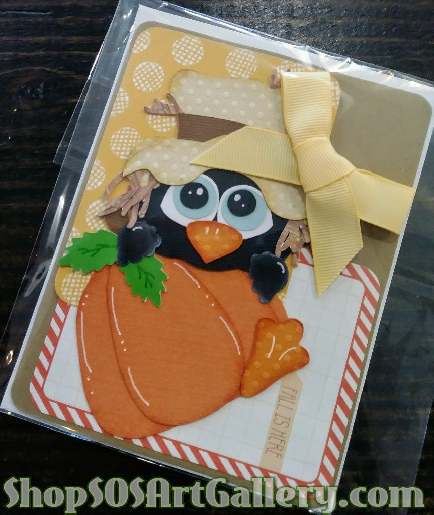 THANKSGIVING: Handmade Greeting Card by @SOSArtGallery Artisan