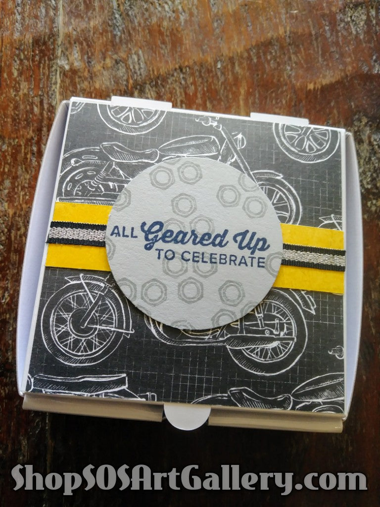GIFT BOXES: Handcrafted gift box by @SOSArtGallery