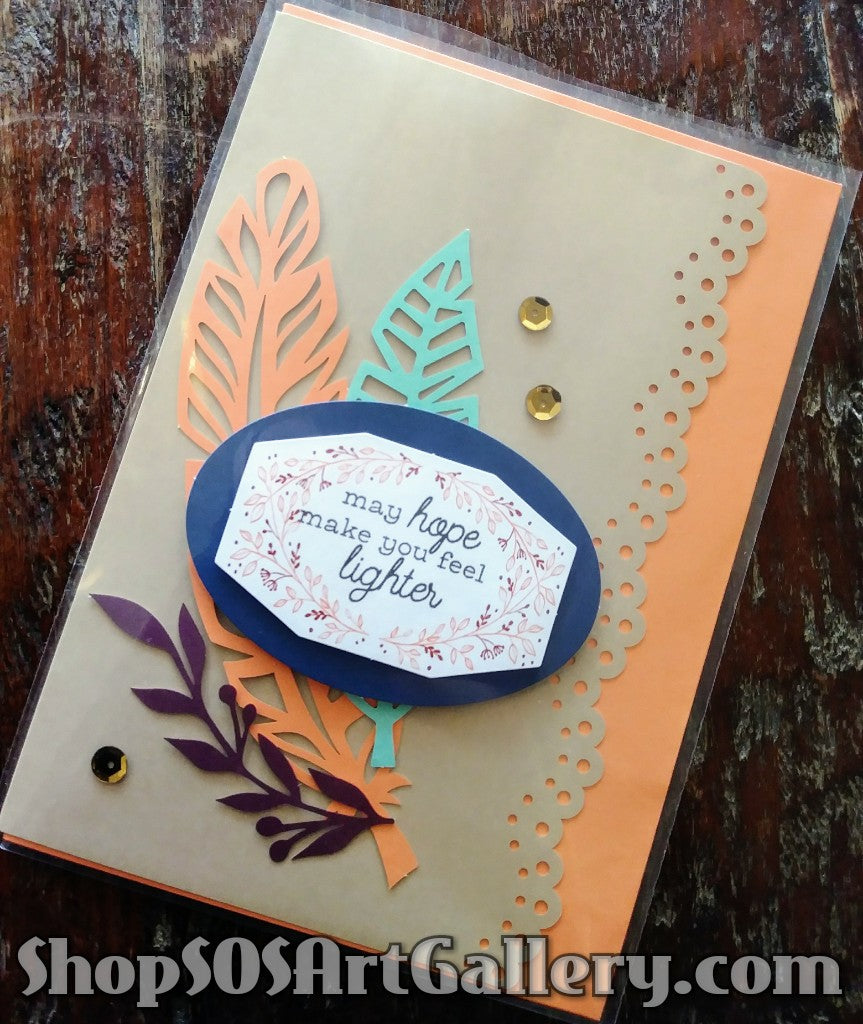 ALL OCCASION: Handcrafted Greeting Card by @SOSArtGallery