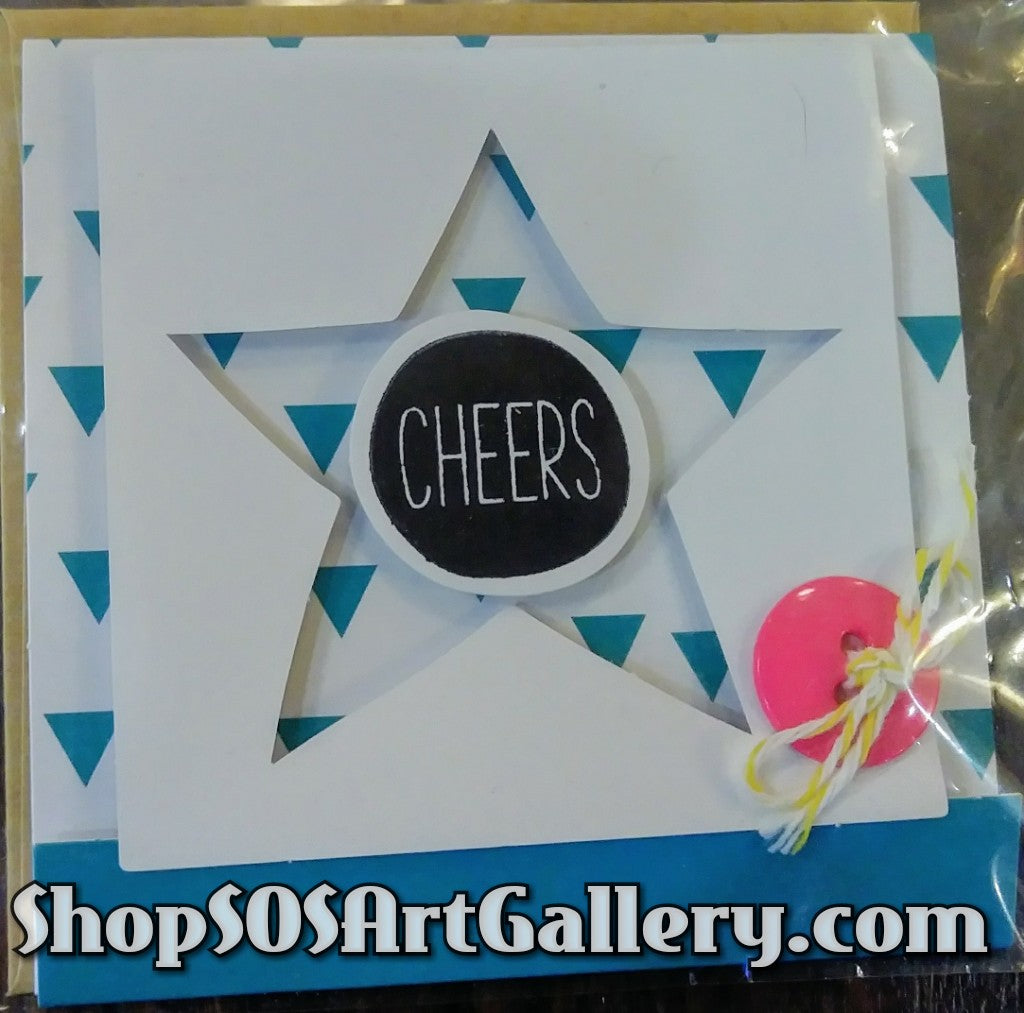 MINI CARDS: Handcrafted Greeting Card by Kathryn McHenry