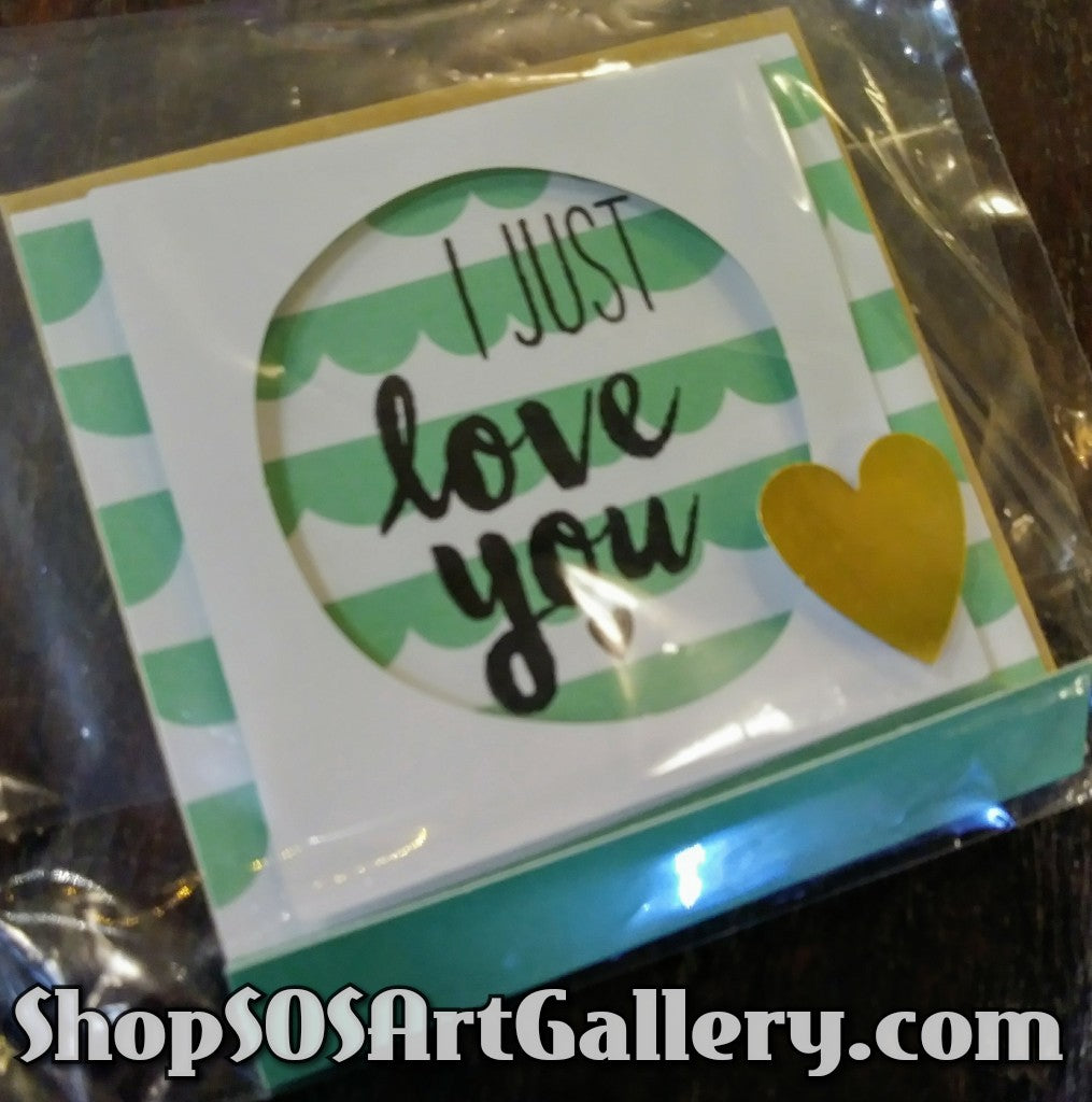 MINI CARDS: Handcrafted Mini Greeting Card by Kathryn McHenry