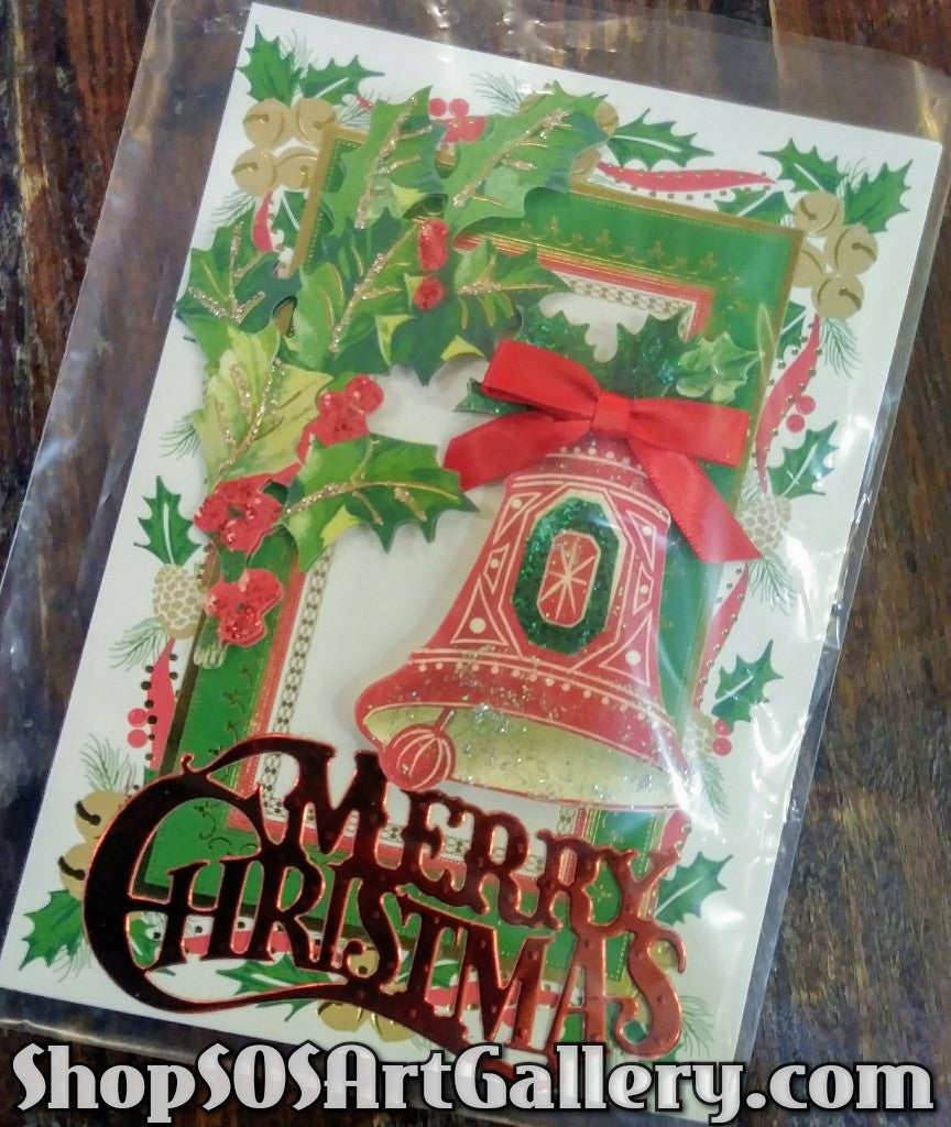 HOLIDAY: Handcrafted Greeting Card by Local Artisan