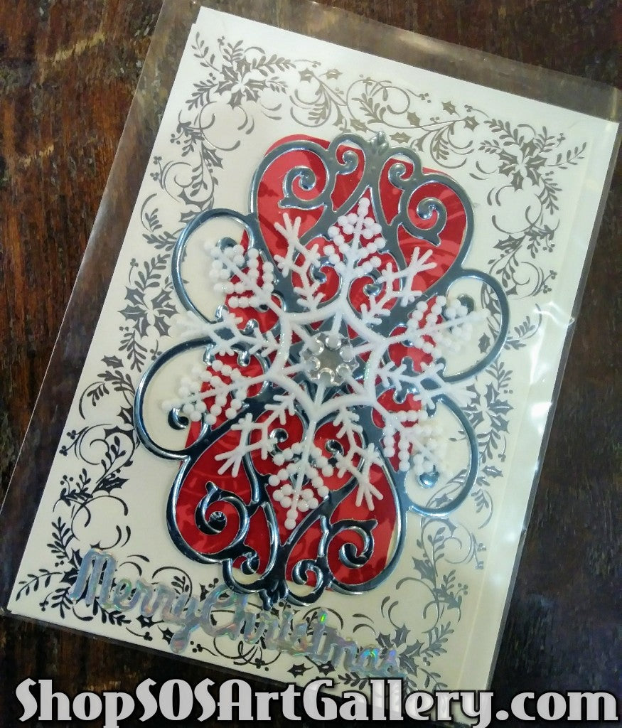 HOLIDAY: Handcrafted Greeting Card by @SOSArtGallery Artisan
