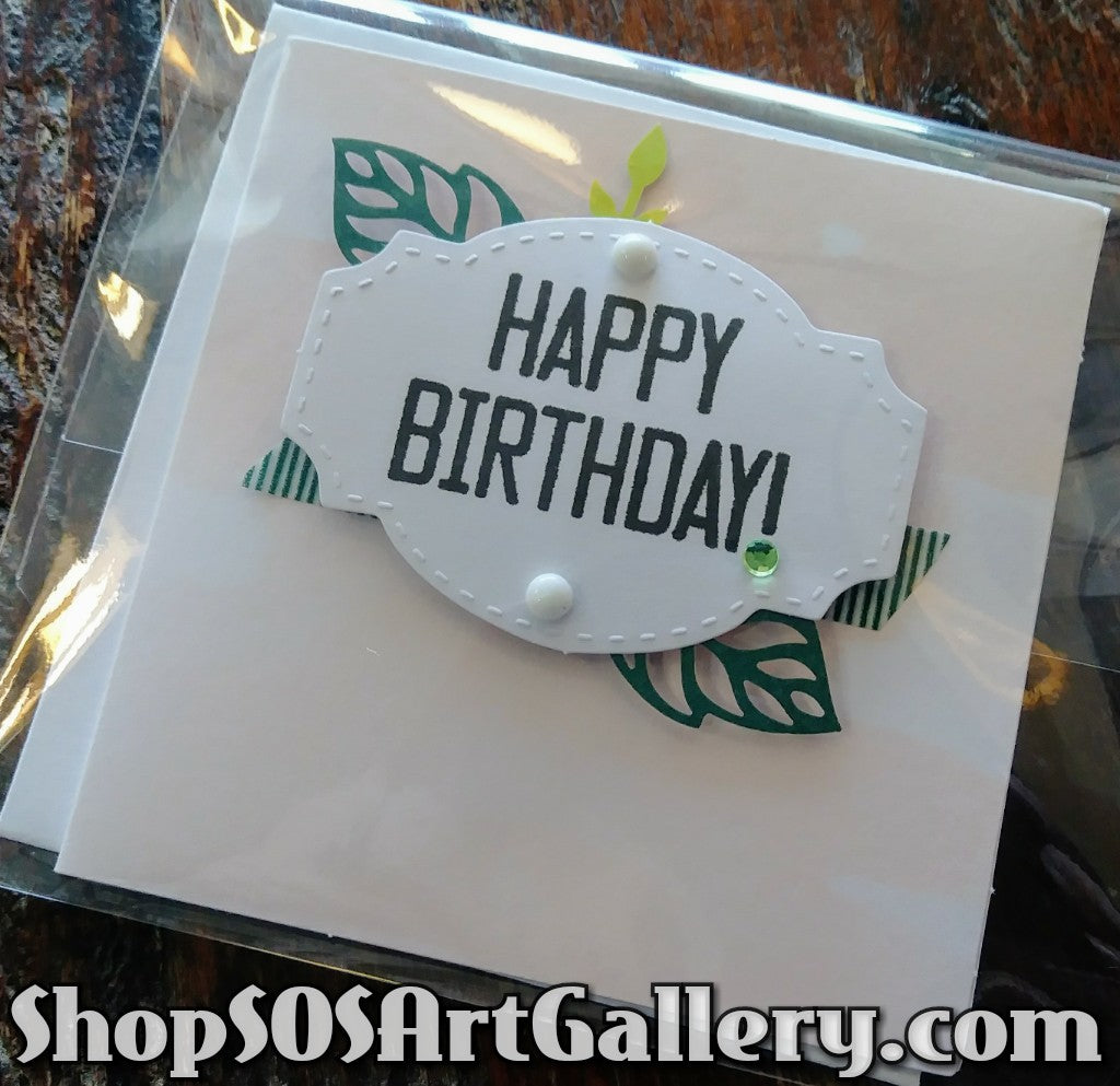 MINI CARDS: Handcrafted Greeting Card by @SOSArtGallery